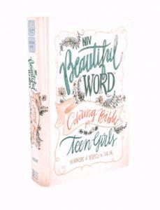 announcing the niv beautiful word bible for teen girls and the niv journal the word bible for teen girls