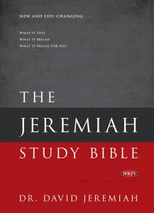 Worthy's best-selling Jeremiah Study Bible reaches over half a