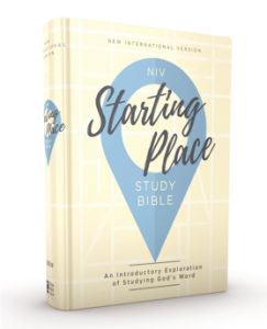 Zondervan releases the NIV Starting Place Study Bible - Rush